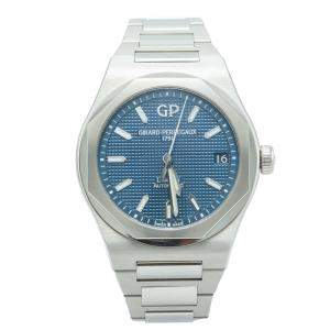 Girard Perregaux Navy Blue Laureato Stainless Steel Automatic Men's Watch 42 MM