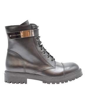 Giuseppe Zanotti Black Alexa Leather Boots Size EU 42