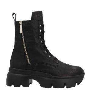 حذاء بوت جيانفيتو زانوتي أبوكاليبس جلد أسود مقاس أوروبي 39