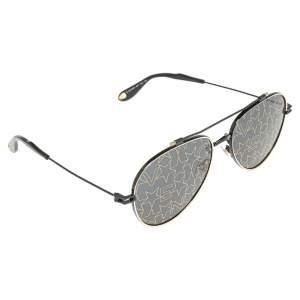 نظارة شمسية جيفنشي أفياتور نود GV7057/S ذهبية/ سوداء
