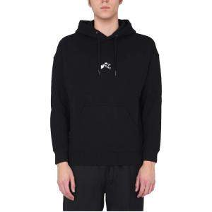 Givenchy Black Abstract Logo Hoodie size M