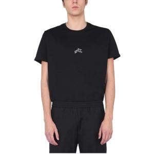 Givenchy Black Abstract Logo Crew Neck T-Shirt size M