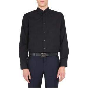 Givenchy Black Button Down Shirt Size EU 40