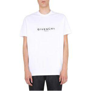 Givenchy White Oversized Fit T-Shirt Size S