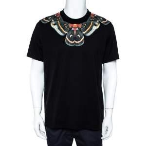 Givenchy Black  Butterfly Print T-Shirt XL