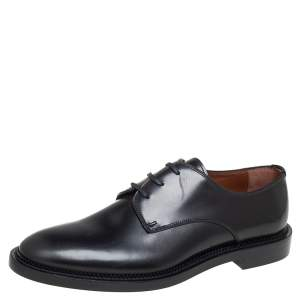 Givenchy Black Leather Lace Up Oxfords Size 42