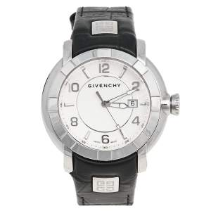 Givenchy White Stainless Steel GV.5202M Men's Wristwatch 44 mm