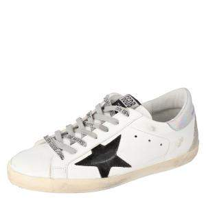 Golden Goose White Superstar Deluxe Size 40