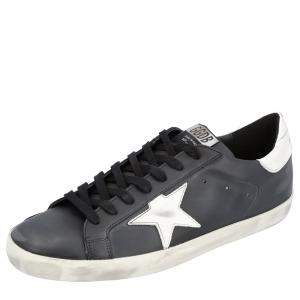 Golden Goose Black Superstar Classic Sneakers Size 44