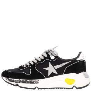 Golden Goose Black Running Sole Sneakers Size EU 43