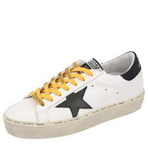 Golden Goose White Hi Star Sneakers Size 39