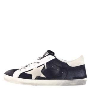 Golden Goose Blue/White Superstar Sneaker Size EU 43