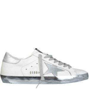 Golden Goose White Super-Star Sneakers Size IT 40