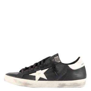 Golden Goose Black Superstar Sneakers Size EU 43