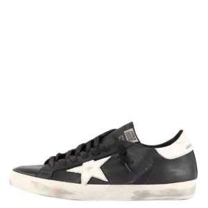 Golden Goose Black Superstar Sneakers Size EU 44