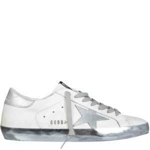 Golden Goose White Super-Star Sneakers Size EU 43