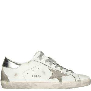 Golden Goose White Super Star Sneakers Size IT 43