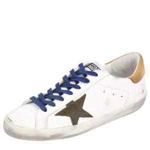 حذاء رياضي غولدن غوز سوبر ستار جلد متعدد الألوان مقاس أوروبي 45