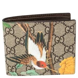 Gucci Multicolor GG Supreme Canvas Tian Bifold Wallet