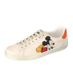 Gucci White Women's Disney x Gucci Ace sneaker Size EU 39.5