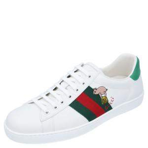 Gucci Ace Kitten Sneakers Size UK 8