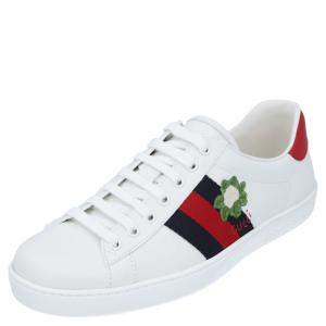 Gucci Ace Cauliflower Sneakers Size UK 7