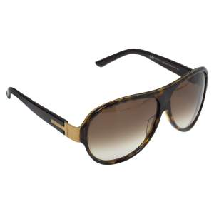 Gucci Brown Havana/ Brown Gradient 1580/S Aviator Sunglasses