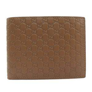 Gucci Brown Guccissima Leather Wallet