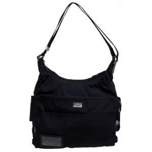 Gucci Black Nylon Messenger Bag