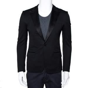 Gucci Black Wool Tuxedo Blazer XS