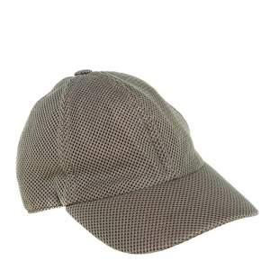 Hermès Grey Mesh Baseball Cap Size 57