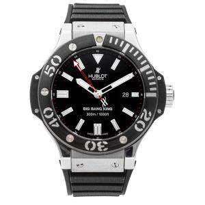 Hublot Black Palladium And Ceramic Big Bang King 322.LM.100.RX Men's Wristwatch 48 MM