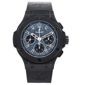Hublot Blue Denim Ceramic 301.CI.2770.NR.JEANS Men's Wristwatch 44 CM