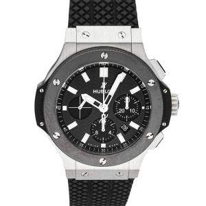 Hublot Black Ceramic And Stainless Steel Big Bang 301.SM.1770.RX Men's Wristwatch 44 MM