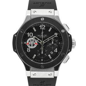 Hublot Black Stainless Steel Big Bang Courchevel Yacht Club Limited Edition 301.SM.100.RX.CVL07 Men's Wristwatch 44 MM