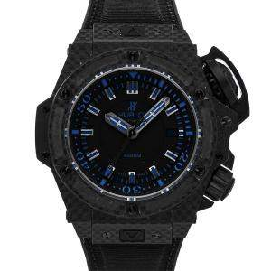 Hublot Black Carbon Big Bang King Power Oceanographic 4000 Limited Edition 731.QX.1190.GR.ABB12 Men's Wristwatch 48 MM