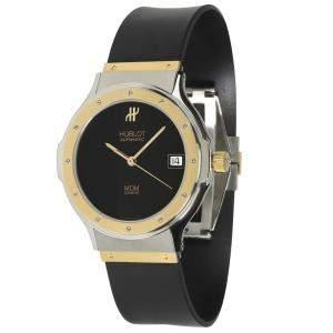 Hublot Black 18K Yellow Gold And Stainless Steel MDM 1581.2 Men's Wristwatch 36 MM