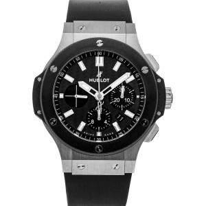 Hublot Gray Stainless Steel Big Bang 301.SM.1770.RX Men's Wristwatch 44 MM