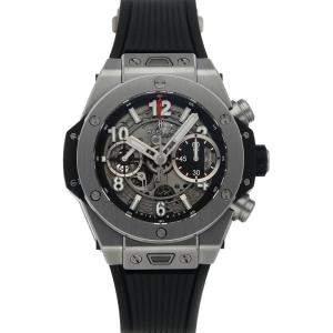 Hublot Black Titanium Big Bang Unico 441.NX.1170.RX Men's Wristwatch 42 MM
