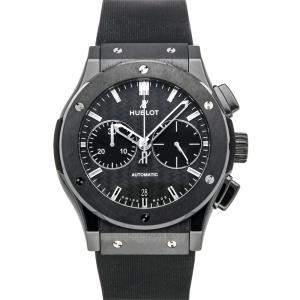 Hublot Gray Ceramic Classic Fusion Chronograph 521.CM.1770.RX Men's Wristwatch 45 MM