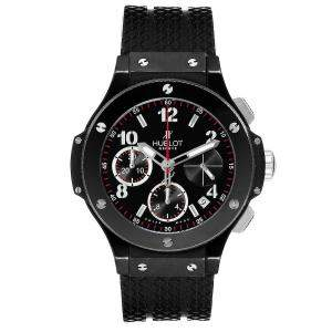 Hublot Black Ceramic Titanium Big Bang Black Magic 342.CX.130.RX Men's Wristwatch 41 MM