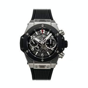 Hublot Grey Titanium Big Bang Unico Chronograph 441.NM.1170.RX Men's Wristwatch 42 MM