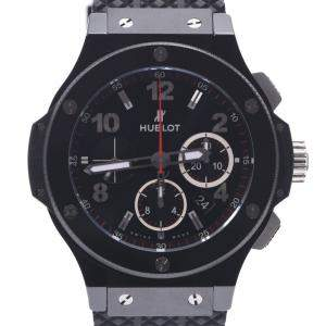 Hublot Black Titanium Big Bang Black Magic 301.CX.130.RX Automatic Men's Wristwatch 42 MM