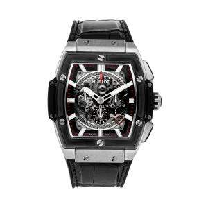 Hublot Black Titanium Spirit of Big Bang 601.NM.0173.LR Men's Wristwatch 45 MM