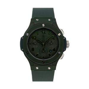 "Hublot Green Ceramic Big Bang ""All Green"" Chronograph Limited Edition 301.GI.5290.RG Men's Wristwatch 44 MM"
