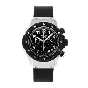 Hublot Black Stainless Steel Classic Fusion Super B Classic Chronograph 1926.NL30.10 Men's Wristwatch 42 MM