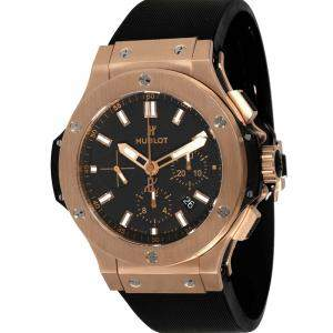 Hublot Black 18K Rose Gold Big Bang 301.PX.1180.RX Men's Wristwatch 44 MM