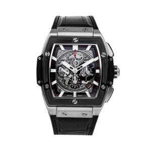 Hublot Grey Titanium Spirit of Big Bang 601.NM.0173.LR Men's Wristwatch 45 MM