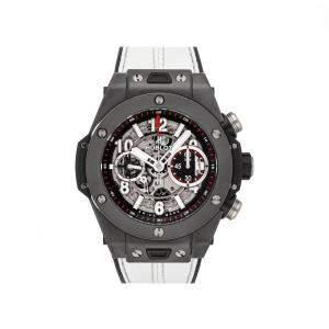 Hublot Grey Ceramic Big Bang Unico Black Magic 411.CI.1170.RX Men's Wristwatch 45 MM