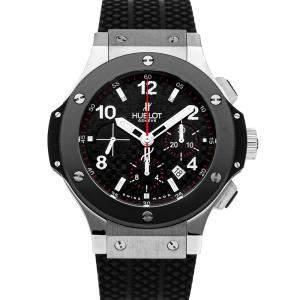 Hublot Black Stainless Steel Big Bang 301.SB.131.RX Men's Wristwatch 44 MM